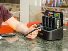 Baterias para hosteleria