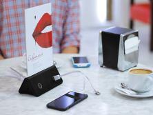 Cargador de celular para restaurante