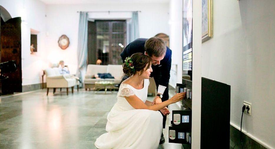 Cargadores para bodas