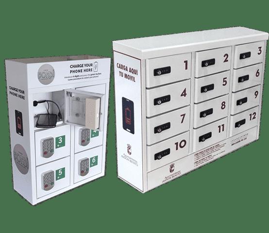 Estaciones de carga para celulares