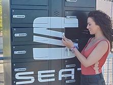 Gabinete de carga para celulares