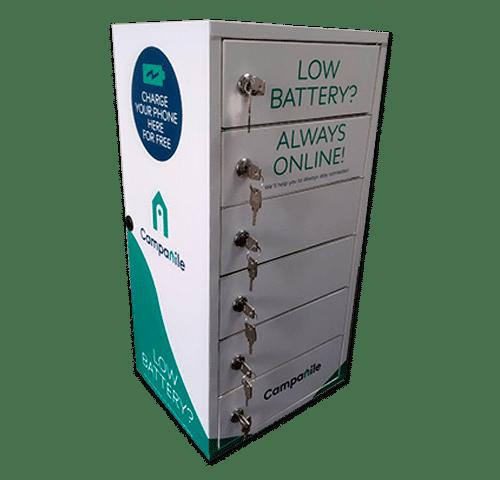 Locker cargador de celulares